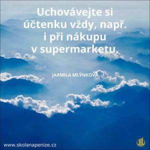 citát, nebe, poučení, škola napeníze, Jarmila Mlýnková, nebe
